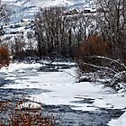 Winter Stream by barnsis