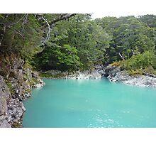 Glacial Melt Water - Dart River Photographic Print