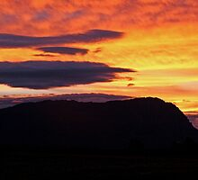 Mt Roland Sunset by Tania Russell