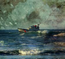 Storm at Sea by Chappy