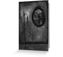 Mirrors Greeting Card