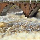 Dam  overflow by jainiemac