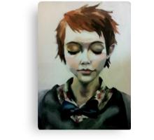 self-actualisation Canvas Print