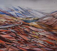 Above Glen Garry by Cath  Dunn