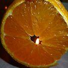 Flaming Orange by Cathie Trimble