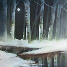 """Winter woodland"" by Alan Harris"