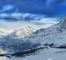 HDR Panoramic - Mannlichen, Switzerland by Luke Griffin