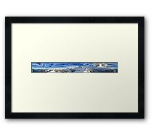 HDR Panoramic - Mannlichen, Switzerland Framed Print