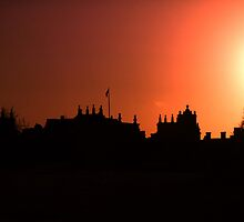 Sunsetting Over Blenheim Palace  by photogary1957