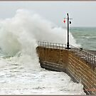 """""""Cornwall again under attack from the Alantic storms"""" by mrcoradour"""