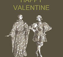 Be My Valentine, Two Men by Eric Kempson