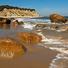Mansion Beach - Block Island by Stephen Cross Photography
