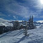 Copper Mountain ski resort by Jeanne Frasse