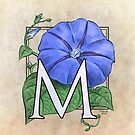 M is for Morning Glory by Stephanie Smith