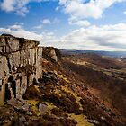 Curbar Edge by Roy Childs