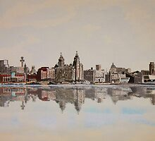 Liverpool Waterfront by Mike Paget