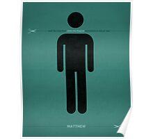 Word: Matthew (The Headless Baptist) Poster