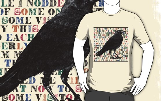 The Raven  T Shirt by Zehda