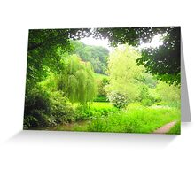 Weeping Willow of Wales Greeting Card
