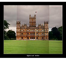 Highclere Castle - Newbury, Berkshire Photographic Print