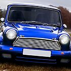 Classic old Mini by Martyn Franklin