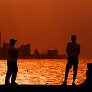 Fishing on the Malecon, Havana, Cuba by buttonpresser