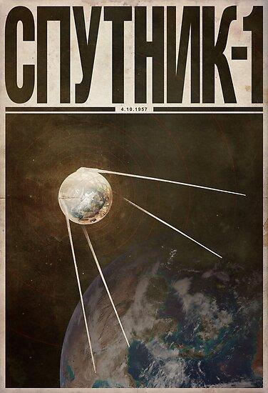 Cosmonaut - Sputnik 1 by JustinVG