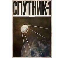 Cosmonaut - Sputnik 1 Photographic Print