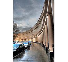 Crescent portico Photographic Print