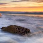 The Friendly Beaches, Sunrise, Tasmania by Michael Treloar