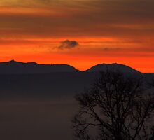 New Beginnings - Dawn over the Puy de Dôme by AbsintheFairy