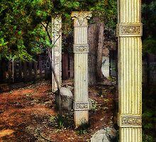 Grecian Garden by pat gamwell