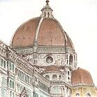 The Duomo, Florence by Michelle Gilmore