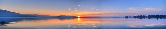 HDR Panoramic - Lake Zug, Switzerland by Luke Griffin