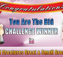 Banner - Challenge Winner All Creatures G&S by imagetj