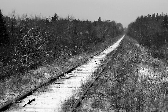 Straight on to Nowhere by Mark Theriault
