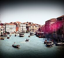 Toy Camera in Venice by Claire Elford