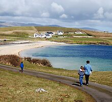 Into the blue - St. John's Peninsula, Donegal by Orla Flanagan