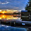 AN ADIRONDACK SUNRISE by MIKESANDY