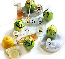 Limes Gone Wild! by Vanessa Dualib