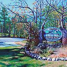 'Welcome to Blowing Rock' - Paintings of NC's Mountain Jewel by Jerry Lee Kirk by Jerry Kirk