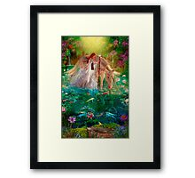 A Curious Introduction Framed Print