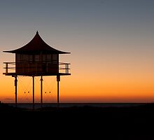 Beach Hut by Stephen Muller