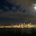 Seattle Skyline from Hamilton Viewpoint Park, West Seattle by Gary Rea