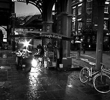 Borough Market, London BW by Kevin Buck