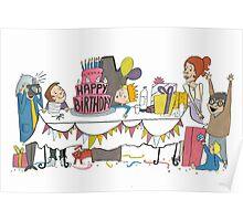 Birthdaycard Poster