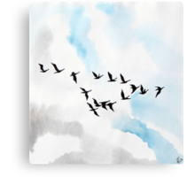 Birds 4 Canvas Print
