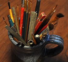 Mug of brushes by mltrue