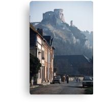 198402160047 Richards Castle at Les Andelays Canvas Print