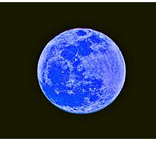 Once In A Blue Moon... Photographic Print